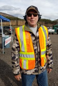 Range Safety Officer Tim Racke